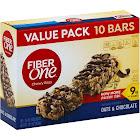 Fiber One Chewy Bars, Oats & Chocolate - 10 pack, 1.4 oz bars