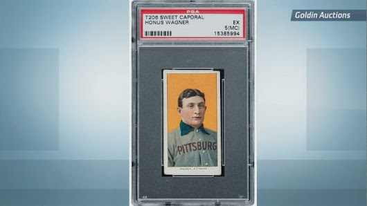 World's Most Expensive Baseball Card Going up for Auction in October