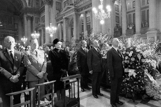 París, 15 de Abril de 1975 - Funeral de Josephine Baker
