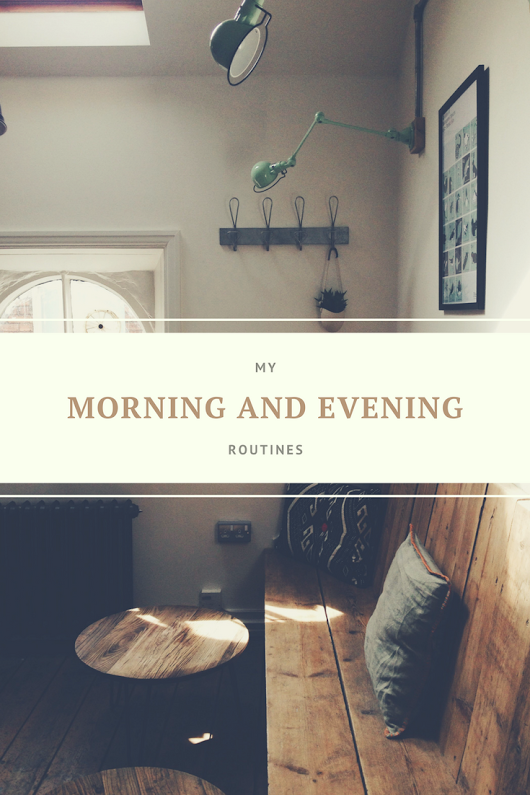 My Morning And Evening Routines - The House of Plaidfuzz