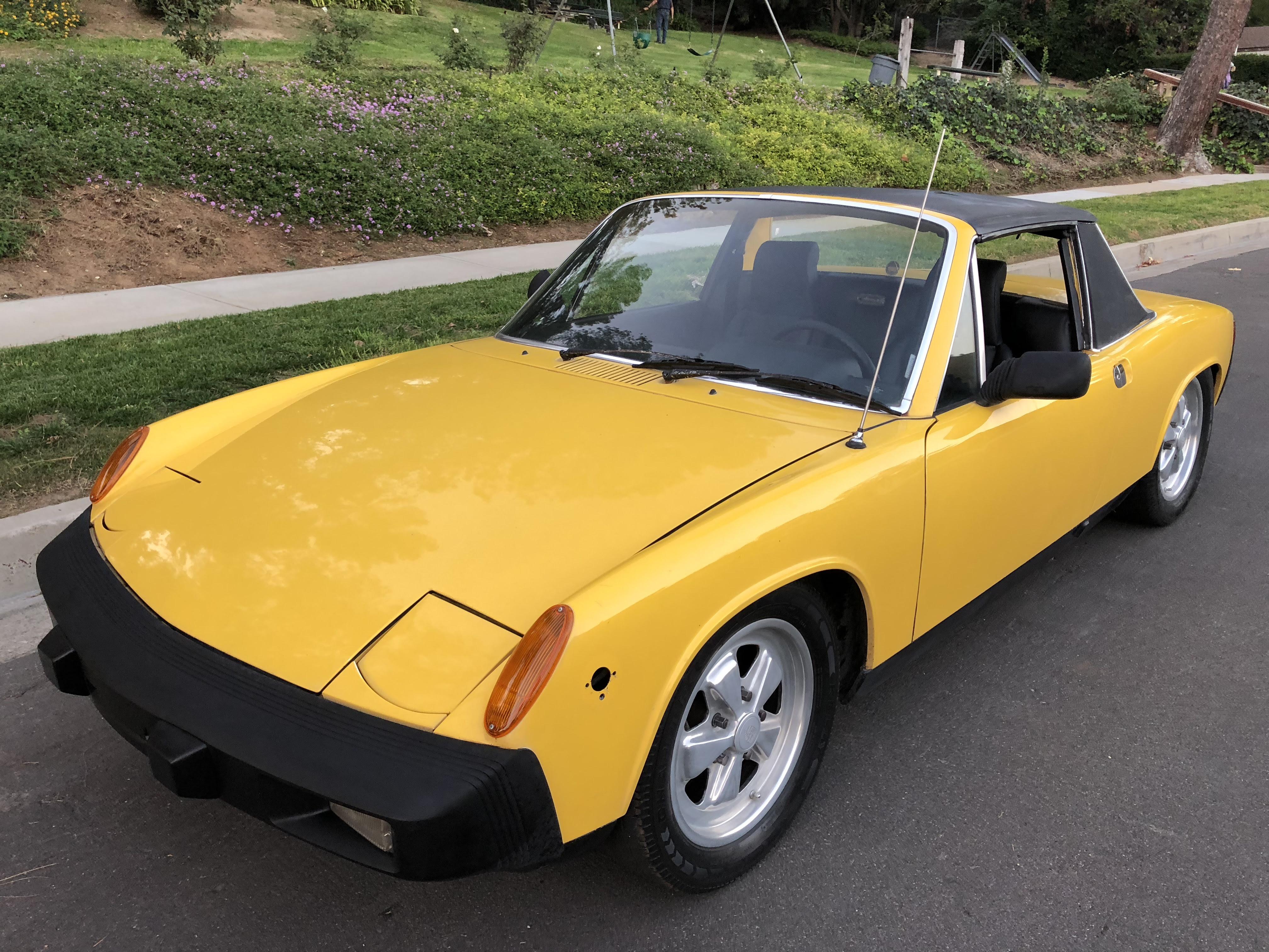 1976 Porsche 914 20l For Sale Phil Newey Sports Cars