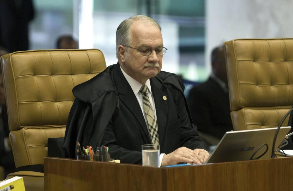 El magistrado Edson Fachin, uno de los miembros del Tribunal Supremo.