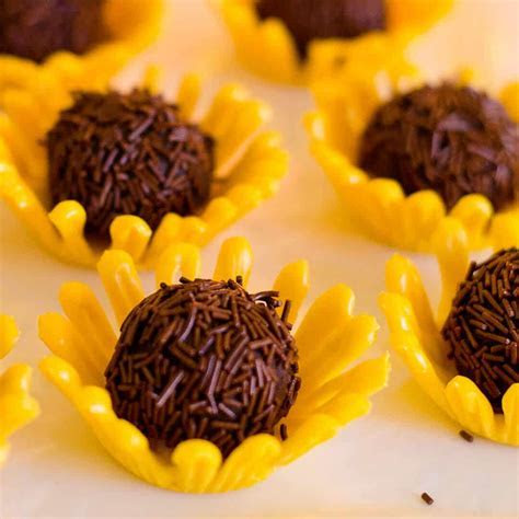 Sunflower Truffles   Ashlee Marie