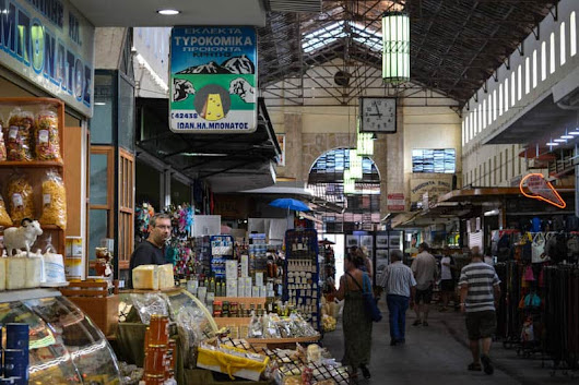 Our visit to the Municipal Market in Chania