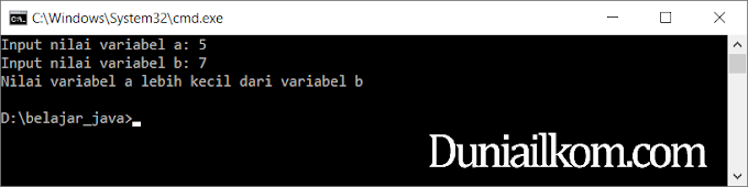 Tutorial Belajar Java Part 29: Percabangan Kondisi IF Bahasa Java oleh - seputarraspberrypi.xyz
