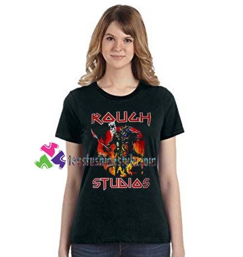 Rough Studios T Shirt #studio #music #art #producer #hiphop #artist #rap #soundcloud #colab #nomadiclife...