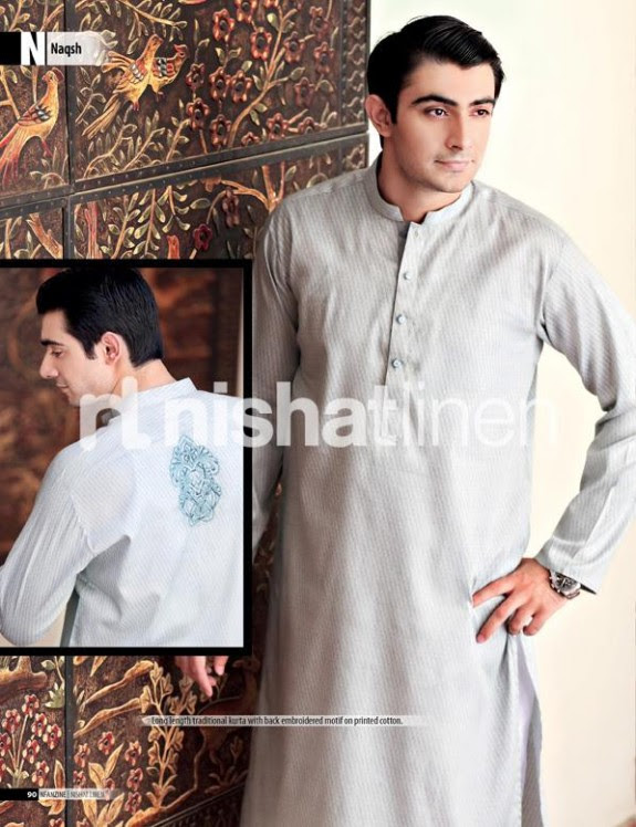 Naqsh-by-Nishat-Linen-Mens-Male-Wear-Kurta-Pajama-Shalwar-Kameez-Eid-Collection-2013-7