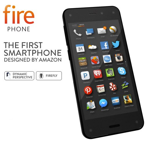 Fire Phone Launched by Amazon: 4.7 Inch, 13MP Camera, FireFly and More