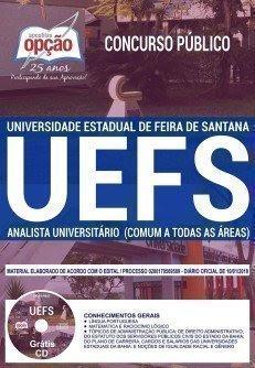 Apostila Concurso UEFS 2018 | ANALISTA UNIVERSITÁRIO (COMUM A TODAS AS ÁREAS)