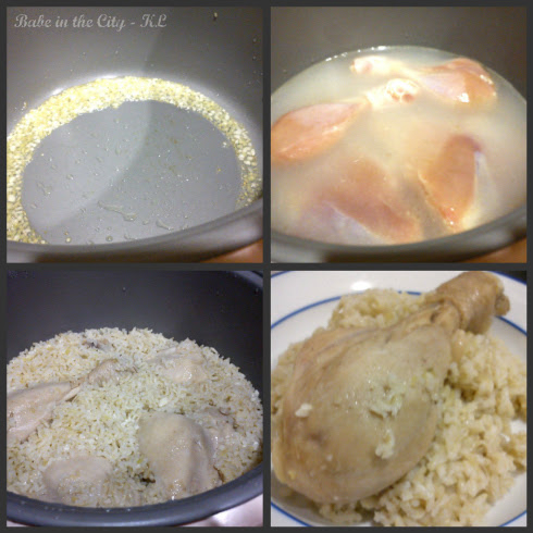 Chicken Rice Step-by-Step