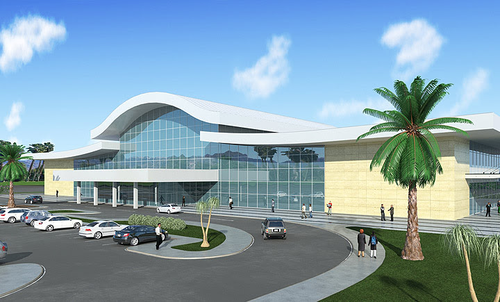 Proposed new Terminal in Kufra Airport