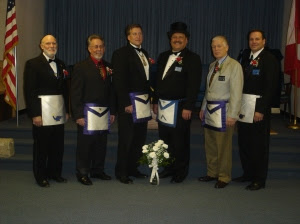 WM Tom Klecan and the 22nd District Officers