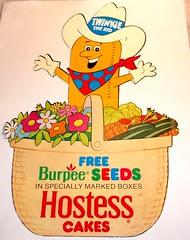 Twinkies Display for Burpee Seeds