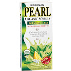 Kikkoman Pearl Organic Soymilk, Green Tea - 32 fl oz carton