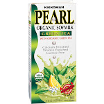Kikkoman Pearl Organic Soymilk, Green Tea - 32 fl oz carton