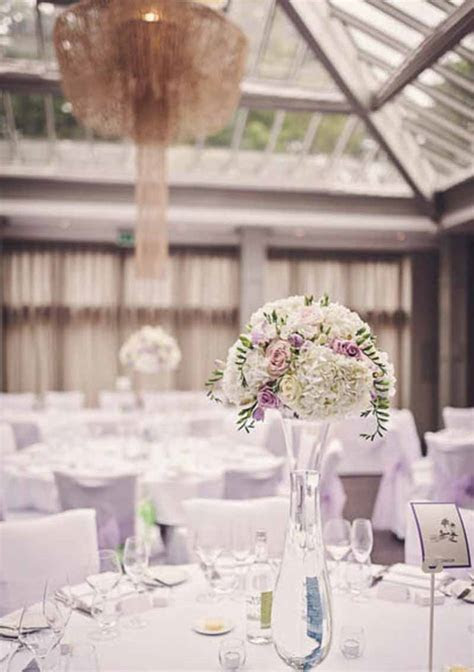 ELEGANT WEDDING FLOWERS AT HAMPTON MANOR ? ROSES & CANDLES