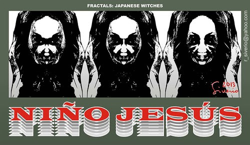 Fractals: Japanese Witches (Fractales: Brujas Japonesas) by Niño Jesús