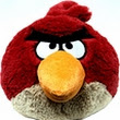 Angry Birds plush toys available.