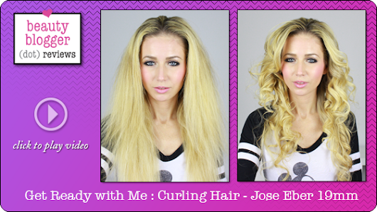 Get Ready With Me : Curling Hair