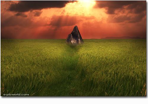 Pyramid Rock composite image