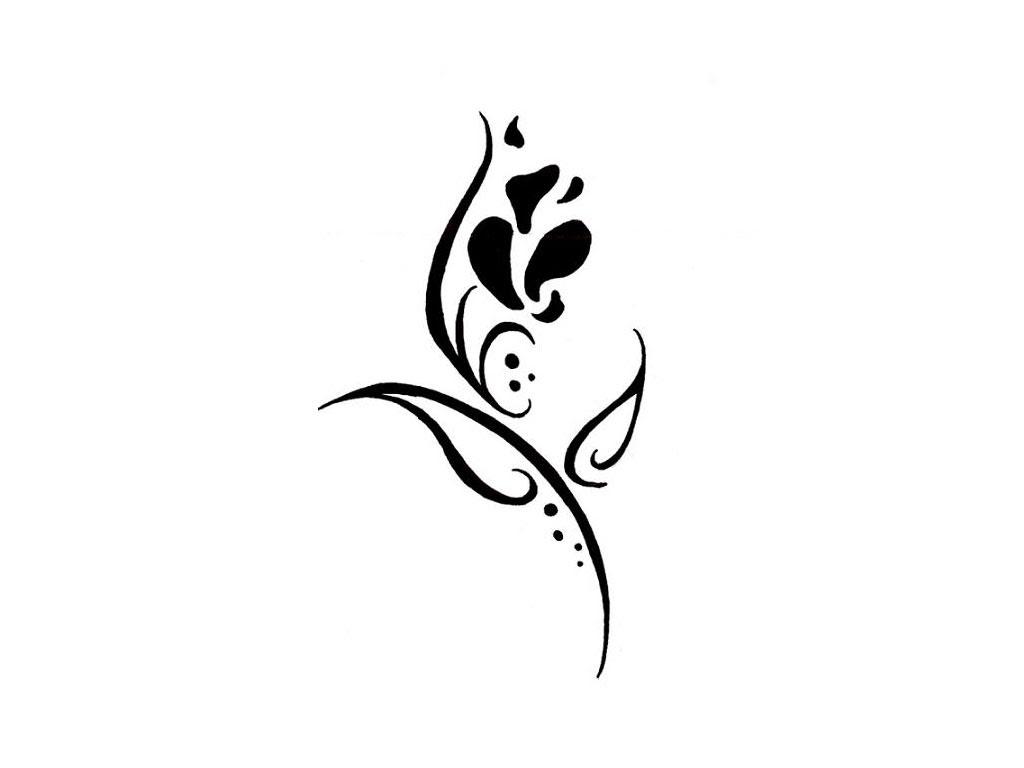 Black Tribal Tattoo Art Design Collection Cute Tattoo Design