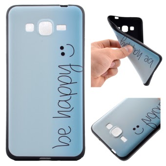 Jual Moonmini TPU Soft Back Case for Samsung Galaxy Grand Prime G530( Multicolor) Online