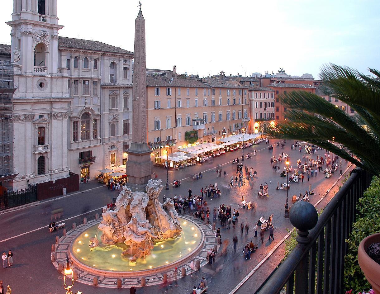 Resultado de imagen de roma piazza navona