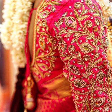 Aari Work Blouse Maggam Work Designs Bridal Blouse t