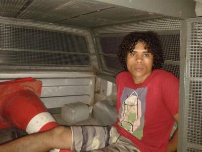Cherle foi preso na Operação desta sexta-feira (Foto: Ubatã Notícias)