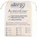 "AllergyCare Organic Cotton Dust Mite Mattress Covers Queen 9""   Allergy-Reducing Relief"