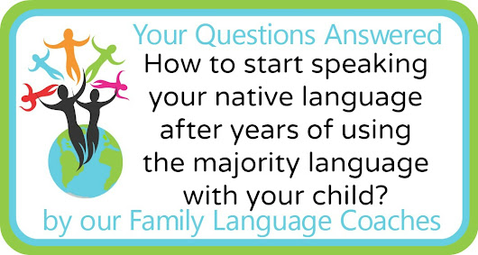 How to start speaking your native language with your child?