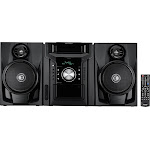 Sharp - 240W 5-Disc Mini Shelf System with cassette and Bluetooth - Black