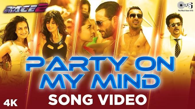 PARTY ON MY MIND LYRICS - Race 2  - Honey Singh, Kay Kay, Shefali Alvaris |
