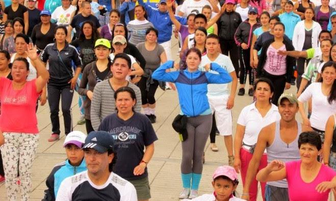 Actividad física - Pasto 2015
