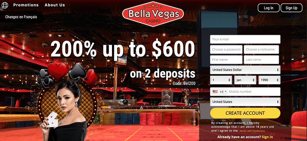 $19 no deposit bonus bella vegas casino casino bonus codes