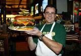 Burger: Proud sponsor