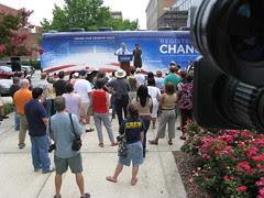 Howard Dean stumps for Obama