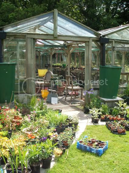 greenhouse at Hidden Valley Gardens at Treesmill Near Par