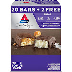 Atkins Endulge Treat Variety Pack (20 + 2 Bonus Bars)