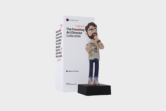 Arriva l'action figure dell'art director - Frizzifrizzi