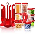 Alta 25-Piece Food Storage Containers BPA Free Leak-Proof Plastic Storage Set
