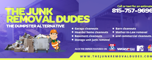 The Junk Removal Dudes | 815-757-9696 | Northern Illinois Junk Removal Service