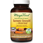 MegaFood Turmeric Strength for Whole Body - 60 Tablet