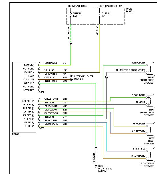 93 Pathfinder Radio Wire Schematic - Wiring Schema Collection