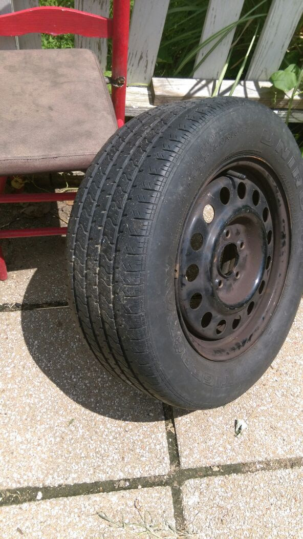 Tire On Wheel Auto Parts In Wichita Ks Offerup