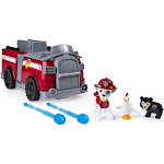 Paw Patrol Marshall's Ride 'N' Rescue Transforming 2-in-1 Playset and Fire Truck for Kids Aged 3 and Up