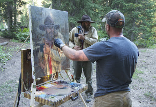 Winning Tips to Plein Air Painting the Live Model Outdoors
