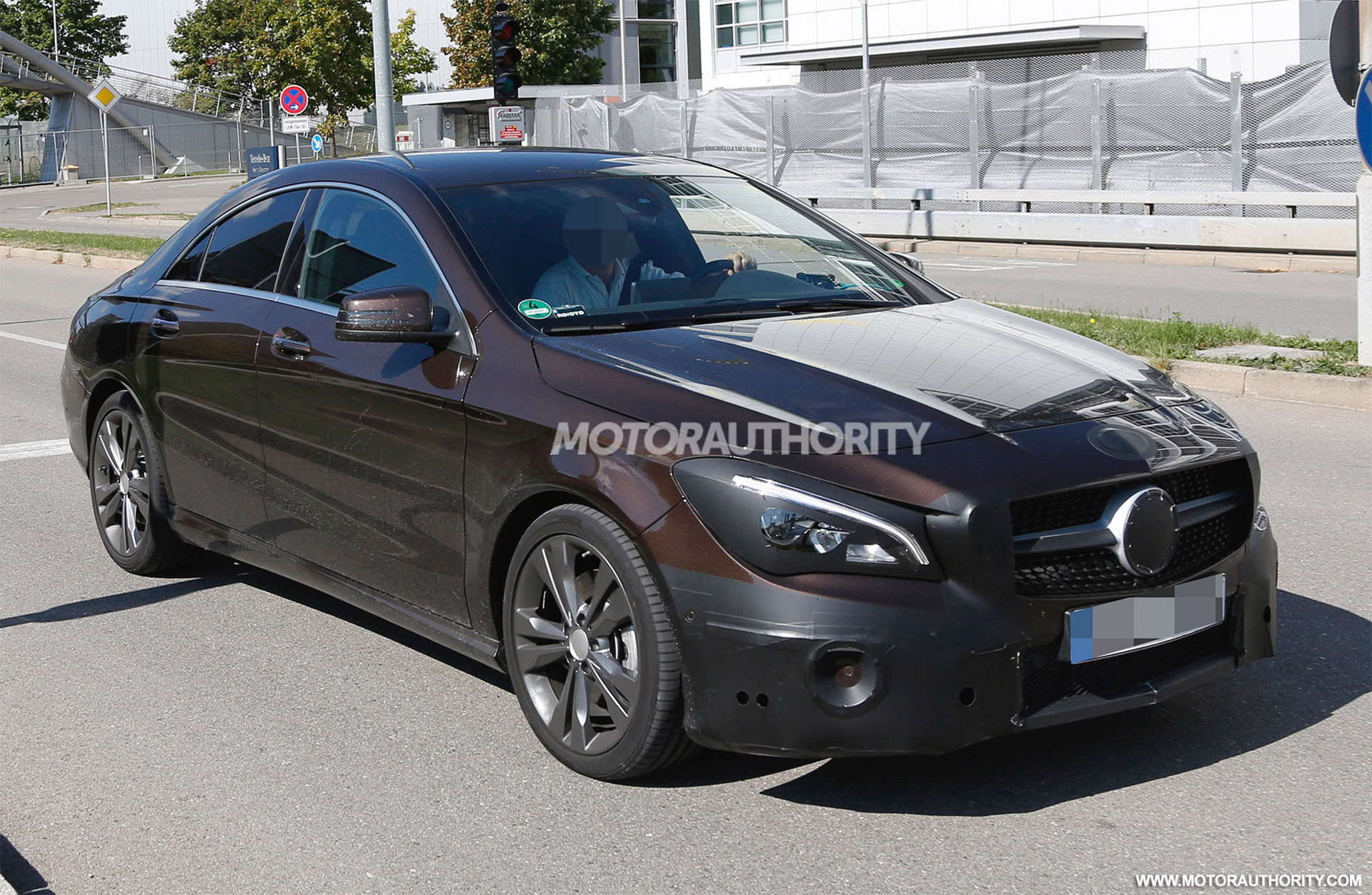 2017 Mercedes-Benz CLA Spy Shots