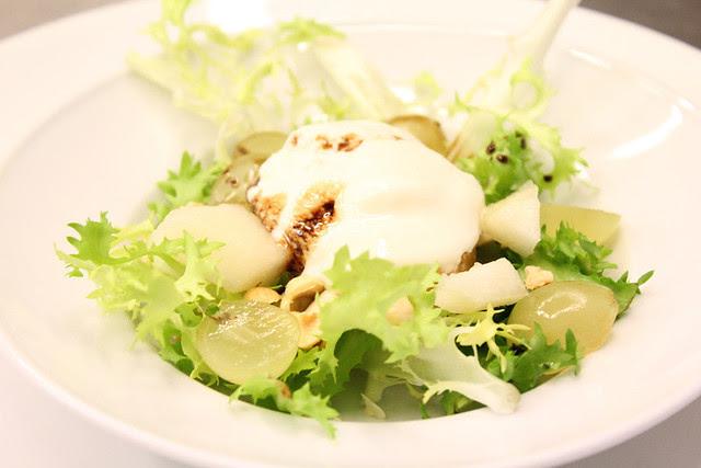 insalata con gelato al grana padano
