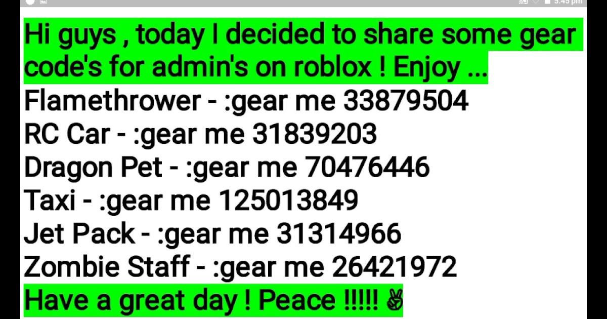 Roblox Gear Codes For Swords
